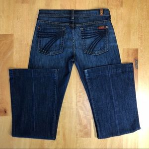 {7FAM} Dojo Original Trouser Jeans 27 Midnight NY